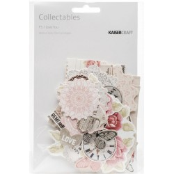 P.S. I Love You Collectables Cardstock Die-Cuts Kaisercraft