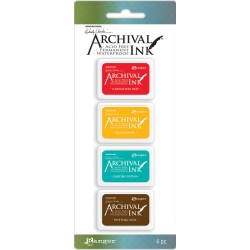 Kit 1 Archival Mini Ink Pad Kits by Wendy Vecchi Ranger