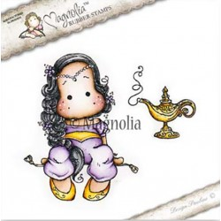 Timbro Aladdin Tilda With Lamp Magnolia Rubber Stamp - BU17