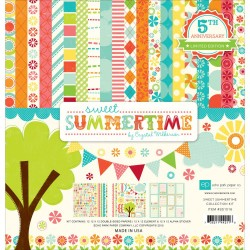 "Sweet Summertime 12""x12"" Collection Kit Echo Park"