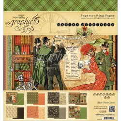 """Master Detective Paper Crafting Paper 8""""x8"""" Graphic 45"""