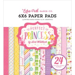 "Perfect Princess 6""x6"" Paper Pad Echo Park"