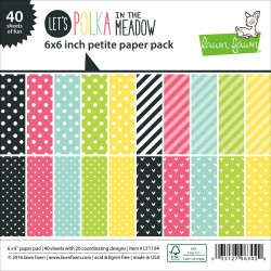 "Let's Polka In The Meadow Paper Pad 6""x6"" Lawn Fawn"