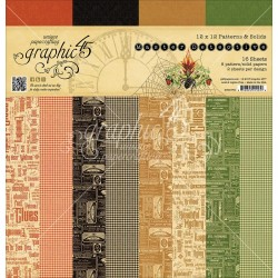 """Master Detective Patterns & Solids 12""""x12"""" Graphic 45"""