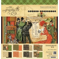 """Master Detective Papercrafting Paper 12""""x12"""" Graphic 45"""