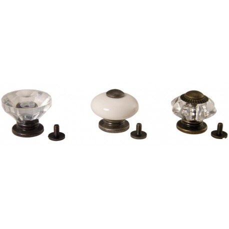 Curio Knobs 3/Pkg Idea-Ology