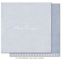 "Light Blue Monochromes - Shades of Denim 12""x12"" Maja Design"