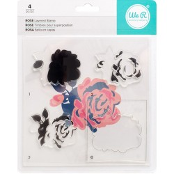 Rose Layered Stamp Kit We R Memory Keepers
