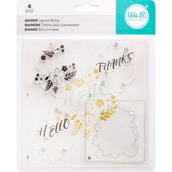 Banner Layered Stamp Kit We R Memory Keepers