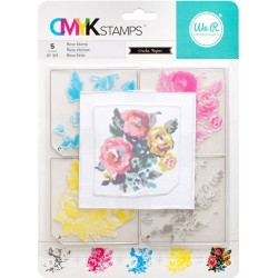 "Rose CMYK Stamp Kit 3""x3"" We R Memory Keepers"