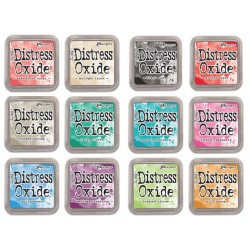 Kit 12 Distress Oxide Ink Pad Ink Pad Tim Holtz