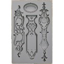Escutcheon I Vintage Art Decor Moulds Prima Marketing