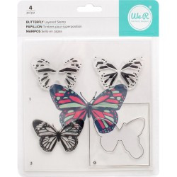 Butterfly Layered Stamp Kit We R Memory Keepers