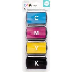 Ink Pad Set CMYK We R Memory Keepers