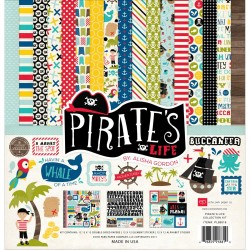 "Pirate's Life Collection Kit 12"" x 12"" Echo Park"