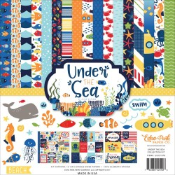 "Under The Sea Collection Kit 12"" x 12"" Echo Park"