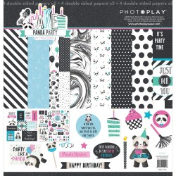 "Cake Panda Party 12""x12"" Collection Pack PhotoPlay"