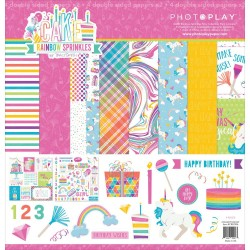 "Cake Rainbow Sprinkles 12""x12"" Collection Pack PhotoPlay"