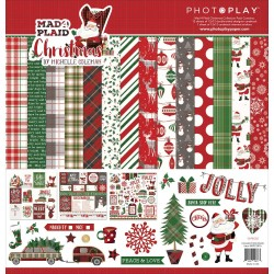 "Mad 4 Plaid Christmas 12""x12"" Collection Pack PhotoPlay"