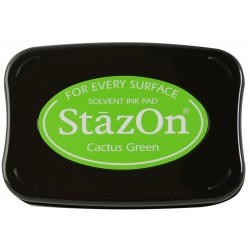 Cactus Green Staz On Solvent Ink Pad