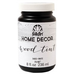 White Wood Tint 236 ml FolkArt Home Decor Plaid