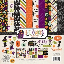 "Halloween Town Collection Kit 12"" x 12"" Echo Park"