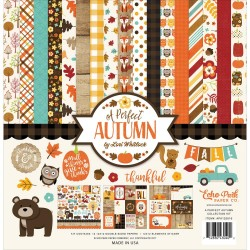 "A Perfect Autumn12""x12"" Element Stickers Echo Park"