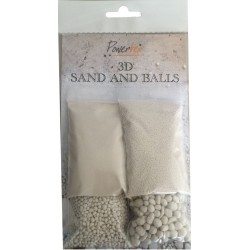 3D Sand And BAlls Powertex