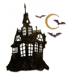 Haunted House Thinlits Dies by Tim Holtz Sizzix