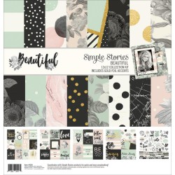 "Beautiful Collection Kit 12""x12"" Simple Stories"