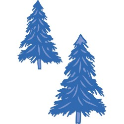 Fir Trees Decorative Dies DIY Cuts Kaisercraft