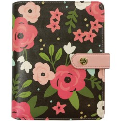 Black Blossom Personal Planner Carpe Diem Simple Stories
