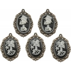Antique Nickel Crypt Cameos Idea-ology by Tim Holtz