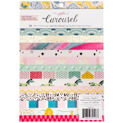 "Carousel 6""x8"" Paper Pad by Maggie Holmes Crate Paper"