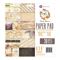 "Amber Moon Paper Pad 8""x8"" by Frank Garcia Prima Marketing"