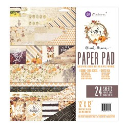 "Amber Moon Paper Pad 12""x12"" by Frank Garcia Prima Marketing"