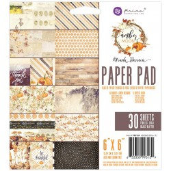 "Amber Moon Paper Pad 6""x6"" by Frank Garcia Prima Marketing"