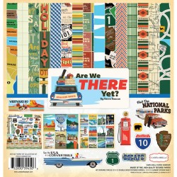 "Are We There Yet? Collection Kit 12""x12"" Carta Bella"