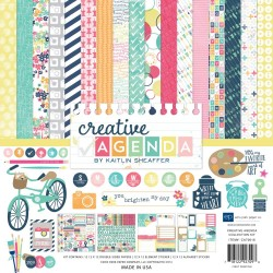 "Creative Agenda Coleection Kit 12"" x 12"" Echo Park"