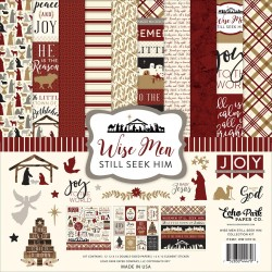 "Wise Men Still Seek Him Collection Kit 12"" x 12"" Echo Park"
