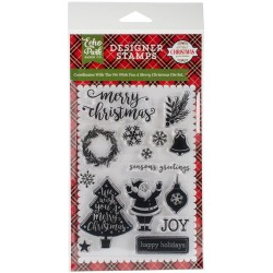 We Wish You A Merry Christmas Clear Stamps Echo Park