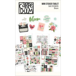 Bloom Mini Sticker Tablet Carpe Diem Simple Stories