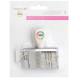 Project 52 Fresh Edition Roller Date Stamp Project Life American Crafts