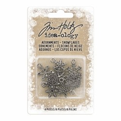 Antique Snowflakes 8 Pkg Idea-ology by Tim Holtz