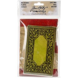 Christmas Basecards Idea-ology by Tim Holtz