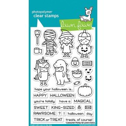 "Costume Party Clear Stamps 4""x6"" Lawn Fawn"
