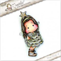Timbro Tilda with Star Magnolia Rubber Stamp - CP-17