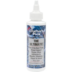 The Ultimate Super Glue 4 oz Crafter's Pick