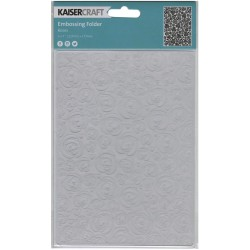 "Roses 5""x7"" Embossing Folder Kaisercraft"
