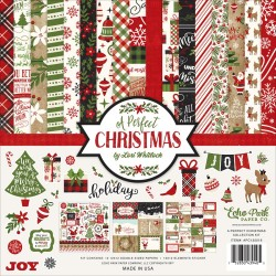"A Perfect Christmas Collection Kit 12""x12"" Echo Park"